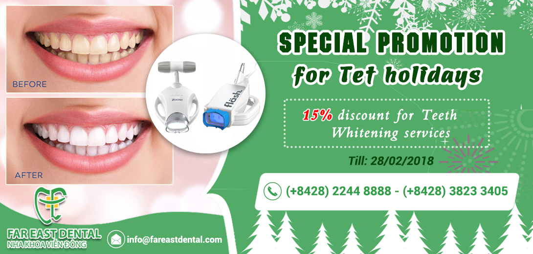 Special promotions for tet holidays