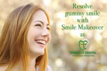 Gummy smiles treatment